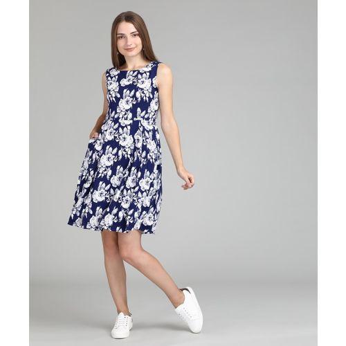 def10c32116 Buy Tokyo Talkies Women s Shift Blue Dress online