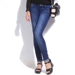 Pepe Jeans Slim Women's Blue Jeans