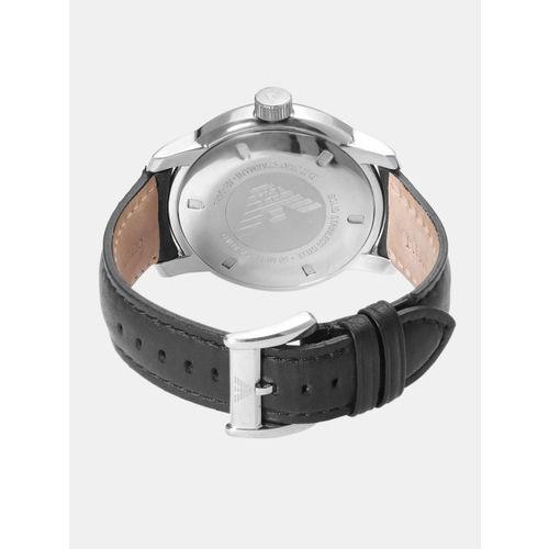 0d16ea54546 Buy Emporio Armani Men Black Analogue Watch AR0428 OR1 online ...