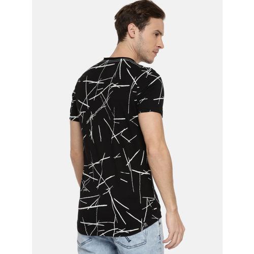 e5fa8291 Buy Being Human Clothing Men Black Printed Round Neck T-shirt online ...