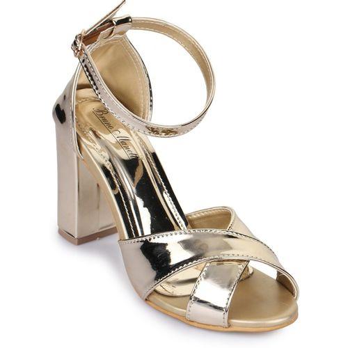 Bruno Manetti Women Golden Heels
