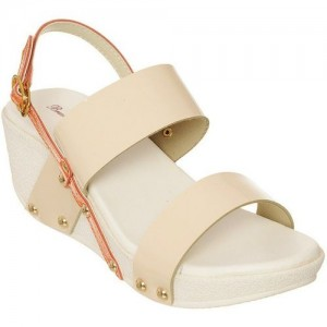 Bruno Manetti Women Beige Wedges