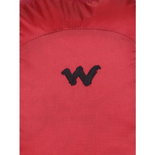 Wildcraft Unisex Red & Black Colourblocked Peza Laptop Backpack