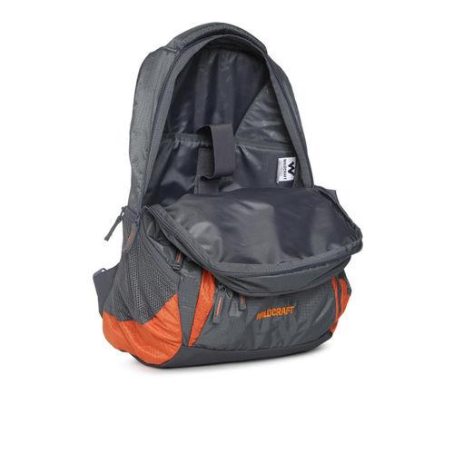 Wildcraft Hopper_2 30 L Laptop Backpack(Orange, Grey)
