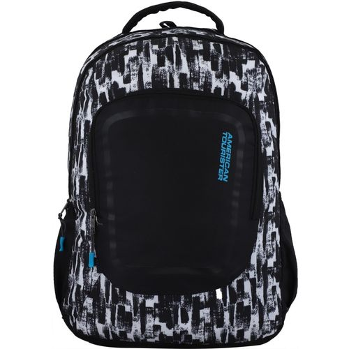 American Tourister Zook 01 35 L Laptop Backpack(Black, White)