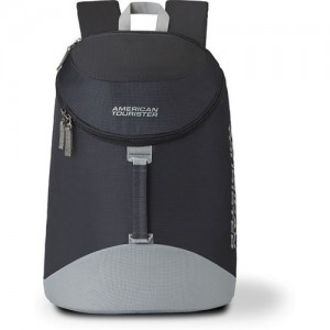 American Tourister Scamp Daypck 01 19 L Backpack(Black, Grey)