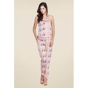 Yepme Multicolor Polyester Crepe Halter Neck Printed Jumpsuit