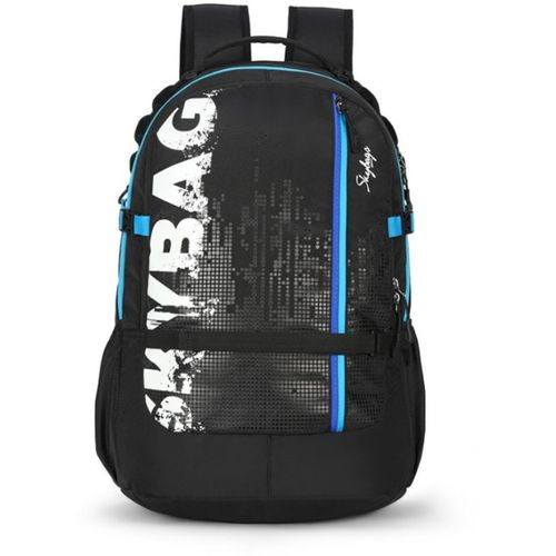 Skybags Kometplus 01 Black 51 L Backpack(Black, White)