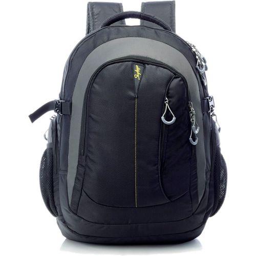 Skybags Fox Business Laptop Backpack (Black) 19.2 L Laptop Backpack(Black, Grey)