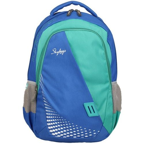 Skybags EON 4BACKPACK BLUE 26 L Backpack(Blue, Green)