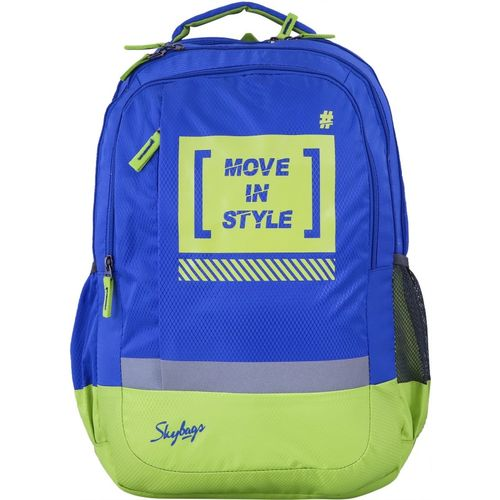 Skybags Bingo Plus 02 36 L Backpack(Blue, Green)