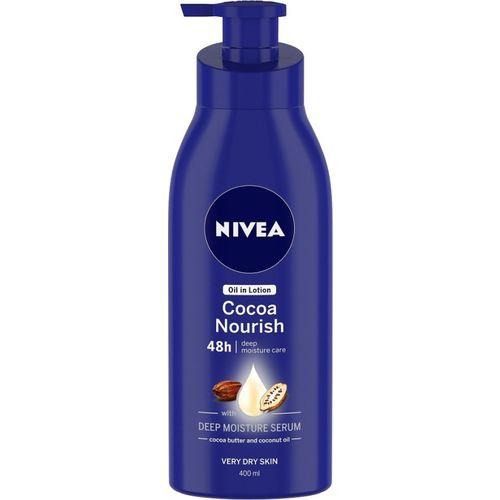 Nivea Cocoa Nourish Oil in Lotion(400 ml)