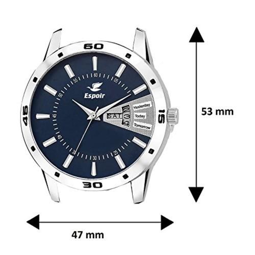 Espoir Analog Blue Dial Men's Watch-ESP12457
