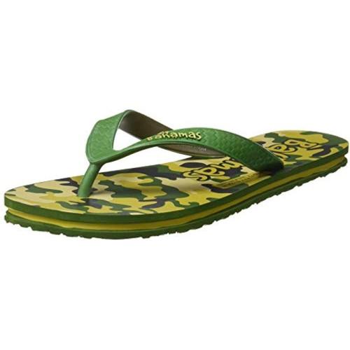 Bahamas Men's Green Flip-Flops