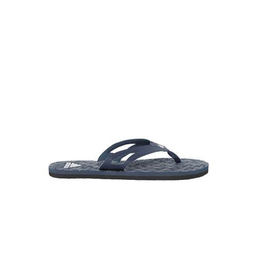 Adidas Men Navy Blue & White OZOR II Printed Thong Flip-Flops