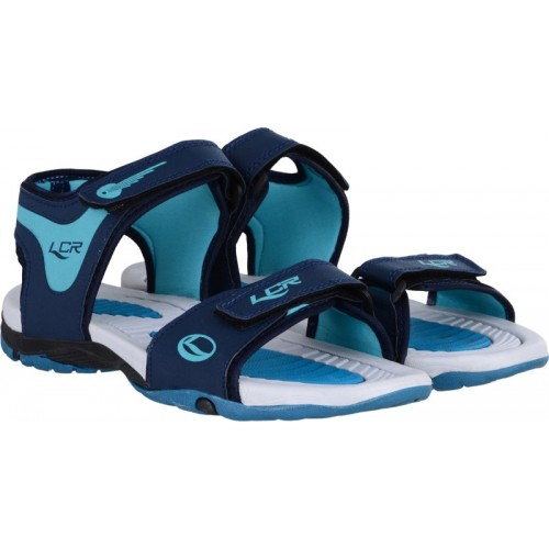 157334c73 Buy Lancer Men Navy Sports Sandals online