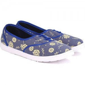 Gliders by Liberty FLORAL-29 Sneakers For Women(Blue)
