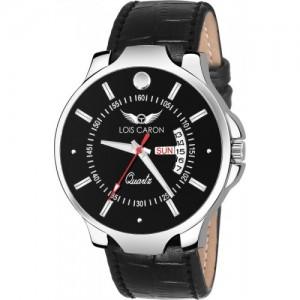 Lois Caron LCS-8085 BLACK Watch - For Men