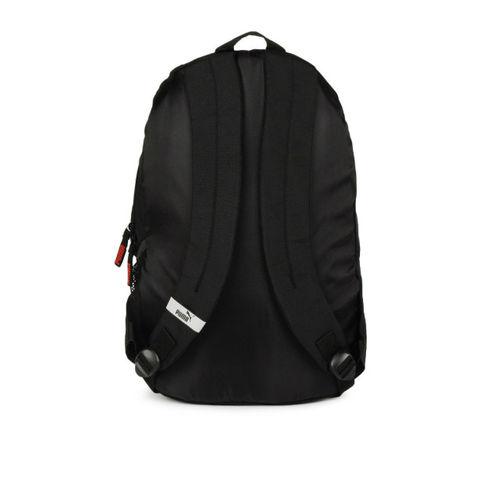 37578b4300 Buy PUMA Unisex Echo Plus Black Red Backpack Bag online