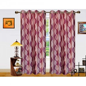 Dekor World Altra Lahar Curtain-Set of 2