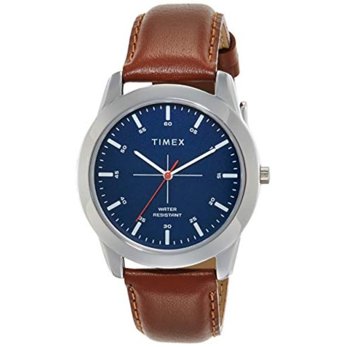Timex TW00ZR262E Blue Leather Analog Dial Watch