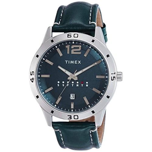 Timex Analog Blue Dial Men's Watch-TW000U931