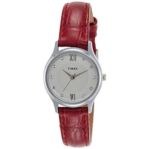 Timex Analog Silver Dial Women's Watch-TW00ZR269E
