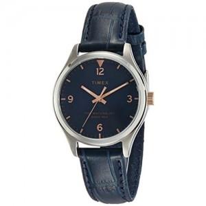 Timex Waterbury Analog Blue Dial Women's Watch-TW2R69700