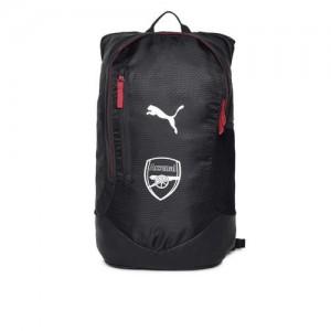Puma Unisex Black Graphic Backpack