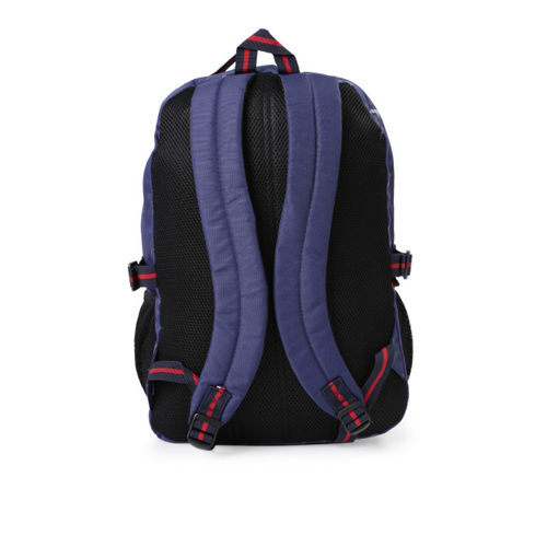Tommy Hilfiger Unisex Navy & Black Printed Backpack