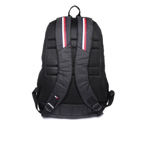 Tommy Hilfiger Unisex Black Print Backpack