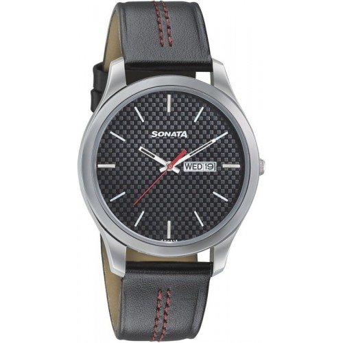 Sonata 77063SL06 Watch - For Men