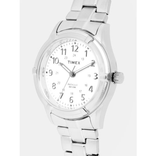 Timex Women White Analogue Watch TW2P88900_OR