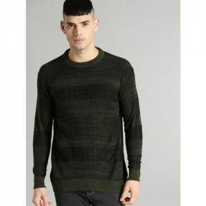 8f1ae9fe61112 Buy Tommy Hilfiger Green Sleeveless Sweater online