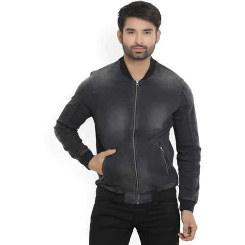 Flying Machine Full Sleeve Solid Men's Jacket