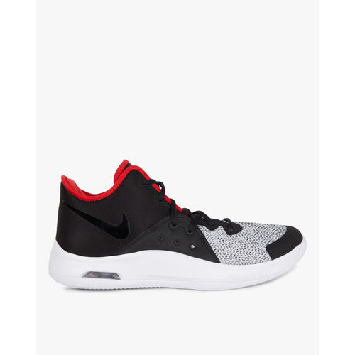 Nike Unisex Black Air Versitile III Mid-Top Basketball Shoes