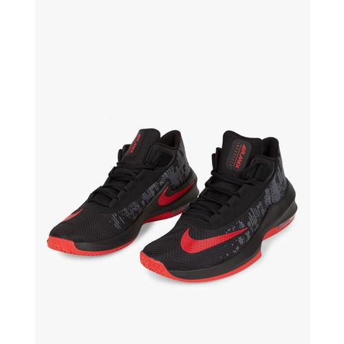 08e69c5c04882b Buy Nike Men Black Air Max Infuriate 2 Mid-Top Basketball Shoes ...