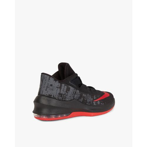 Nike Men Black Air Max Infuriate 2 Mid-Top Basketball Shoes