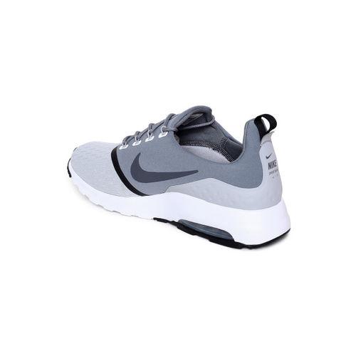 Buy Nike Men AIR MAX MOTION RACER 2 Grey Running Shoes