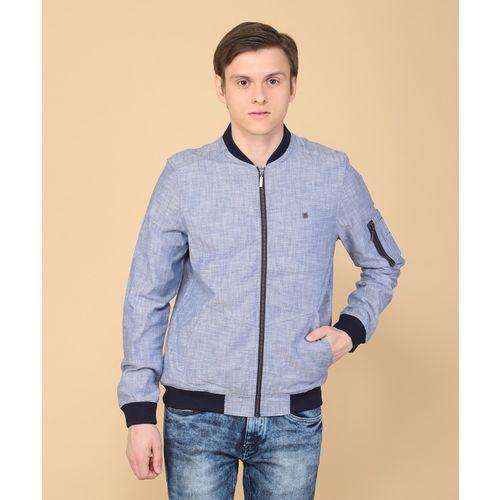 30fd8d47456 Buy LP Jeans by Louis Philippe Full Sleeve Self Design Men Jacket online