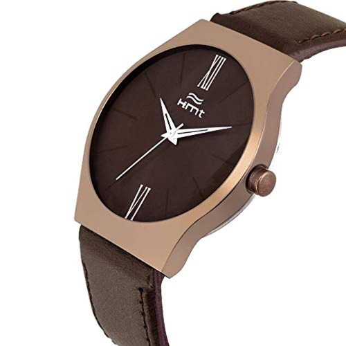 Hemt Analogue Brown Dial Men's Watch - HM-GR504-BRW-BRW