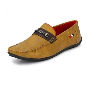 KNOOS Tan Synthetic Slip On Loafer