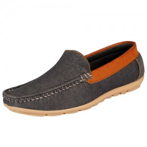 Fausto FAUSTO Grey Men's Loafers