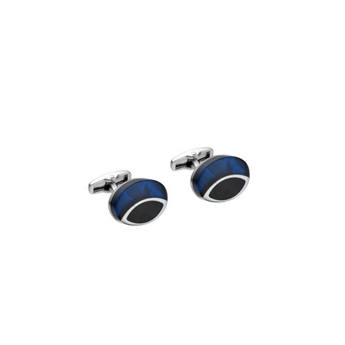 Alvaro Castagnino Blue & Black Cufflinks
