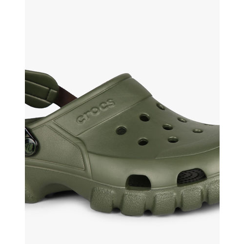 CROCS Clogs with Ankle-Strap & Cutouts