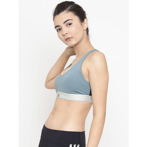 fdd82b1e78 Buy Adidas Green Solid Training ALL ME VFA Bra DM7204 online ...