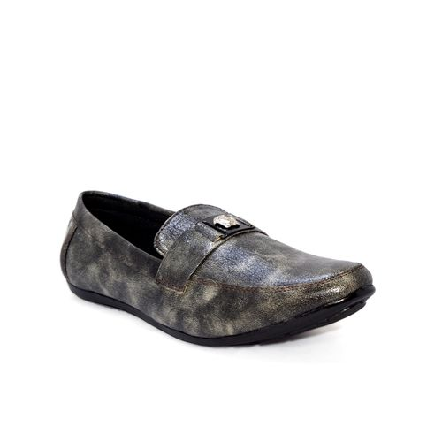 Blue Pop Men's Gray Loafers