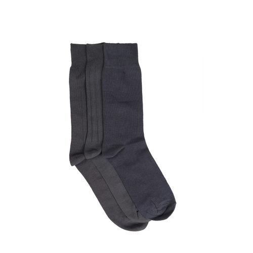 Peter England Men Pack of 3 Assorted Calf-Length Socks
