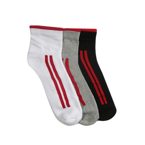 Peter England Men Set of 3 Ankle-Length Assorted Socks