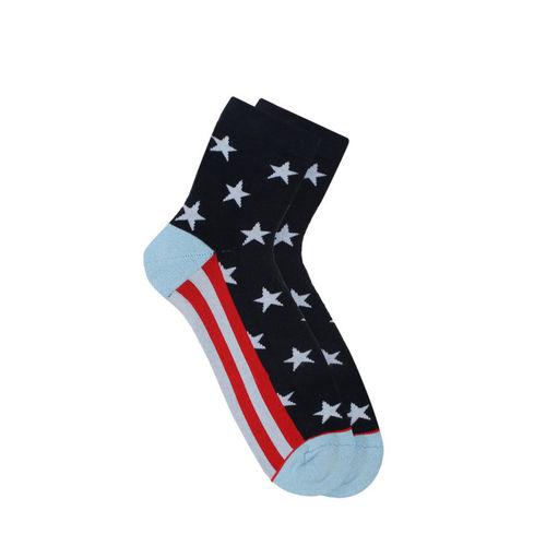 706e91c3939 Buy Soxytoes Men Multicoloured Patterned Ankle-Length Socks online ...